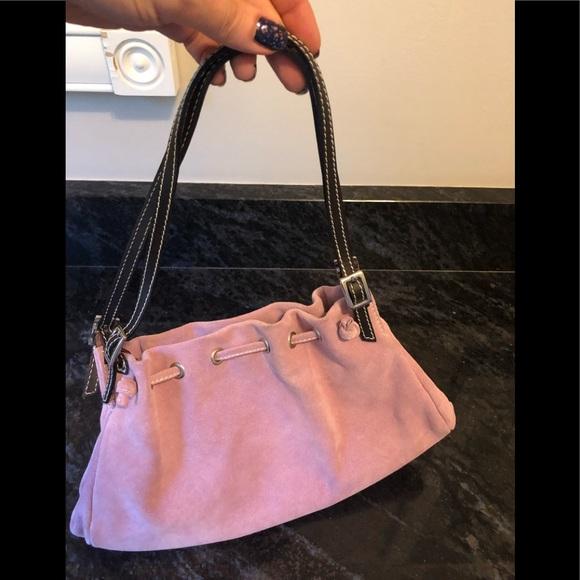Neiman Marcus Handbags - made in Italy Neiman Marcus  suede handbag